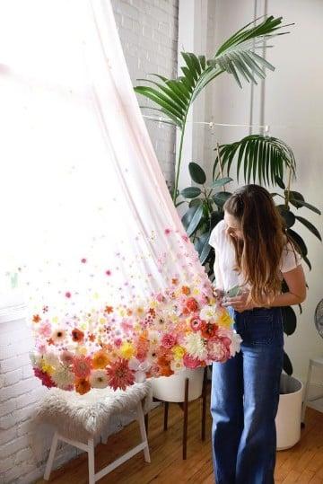 como hacer cortinas recicladas de y faciles
