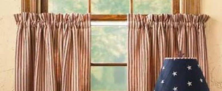 Telas cortinas cocina modernas latest cortinas para for Cortinas para cocina rustica