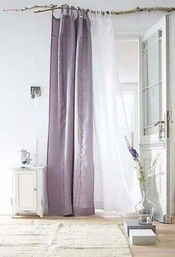 cortinas hechas en casa economicas
