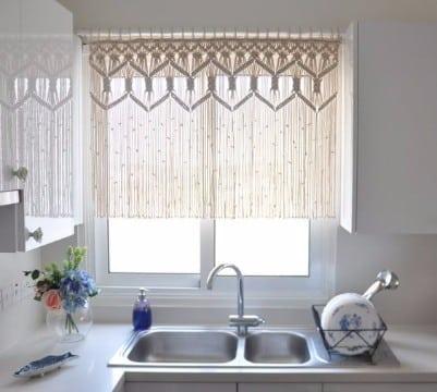 originales cortinas hechas en casa para ventanas y ba os
