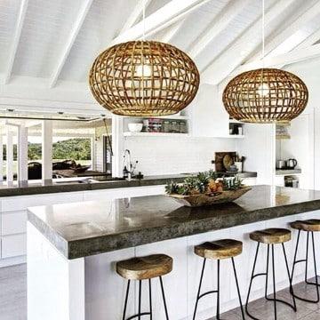 Originales lamparas de techo caseras colgantes - Lamparas originales de techo ...