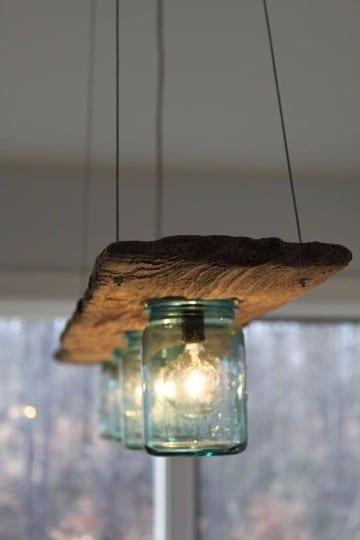 lamparas faciles de hacer en casa electricas