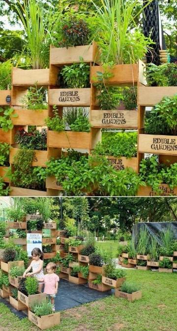 reciclado de cajones de verdura paso a paso