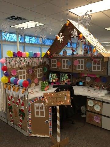 adornos navideños para oficina manualidades