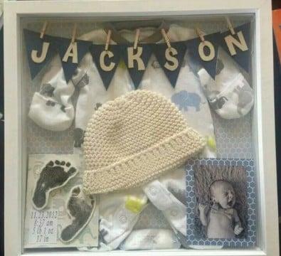adornos para bebes recien nacidos faciles