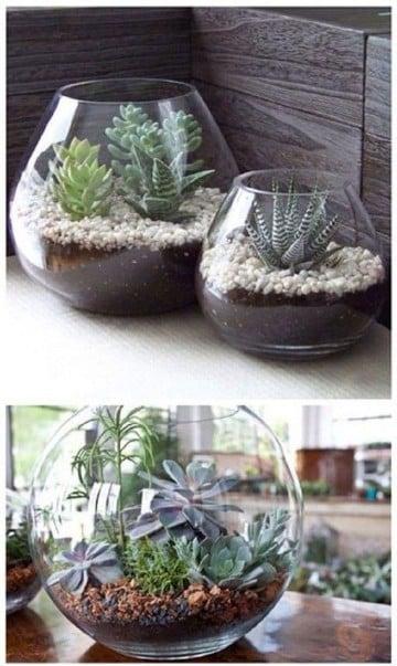 como hacer jarrones decorativos decorar
