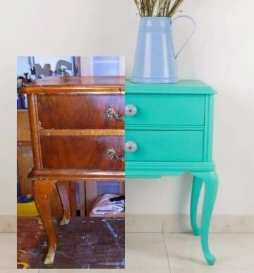 como restaurar muebles viejos y antiguos de madera