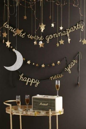 decoracion año nuevo adornos