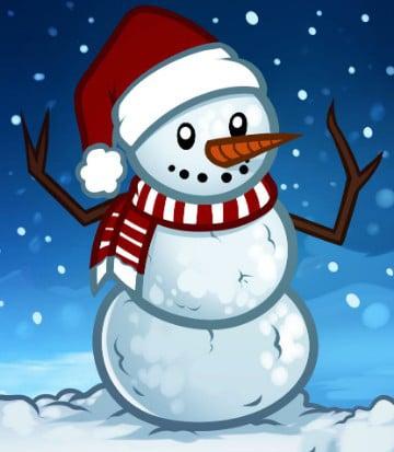 imagenes muñecos de nieve navideños