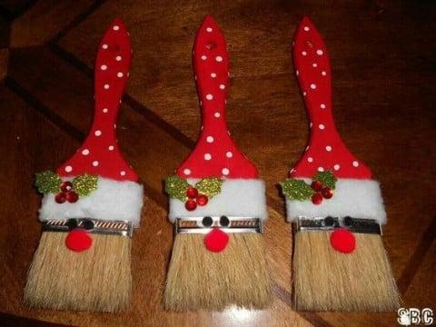 manualidades caseras para navidad para las puertas