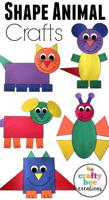 manualidades con papel construccion para niños