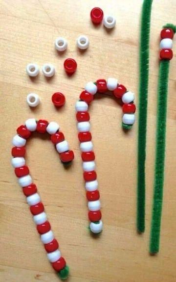 manualidades de adornos navideños para niños