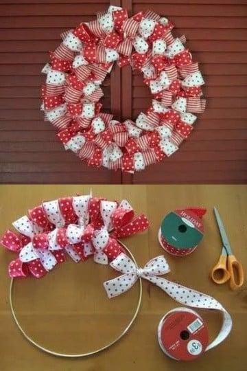 manualidades de adornos navideños paso a paso