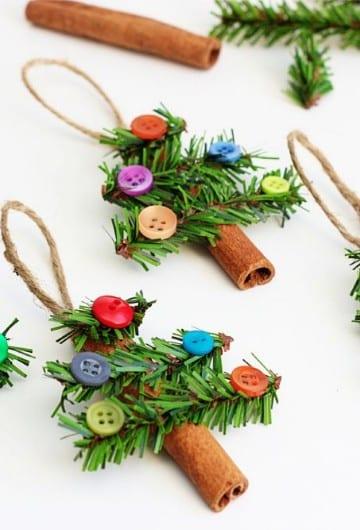 manualidades para el arbol de navidad adornos