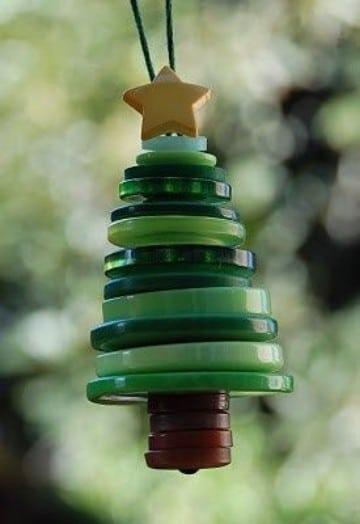 manualidades para el arbol de navidad caseros