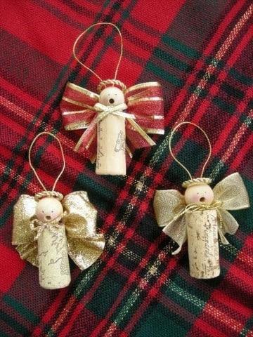 manualidades para el arbol de navidad muñecos