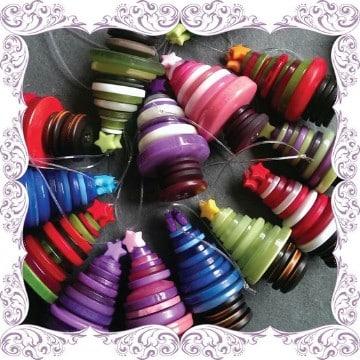 manualidades para el arbol de navidad reciclados