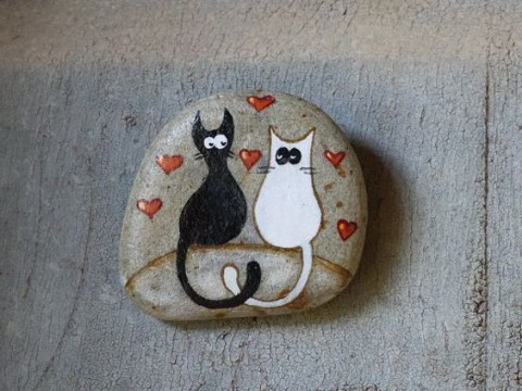 Pebble Pictures Cats