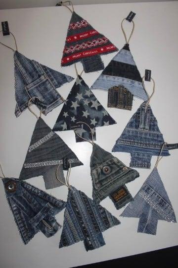 tarjetas navideñas con material reciclado originales