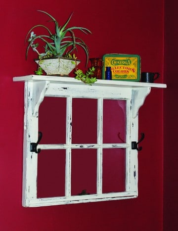 ventanas antiguas de madera reciclada