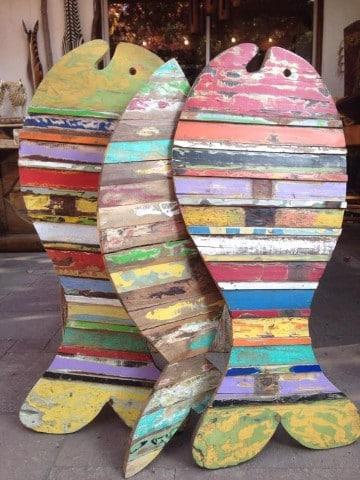 adornos de madera rusticos faciles