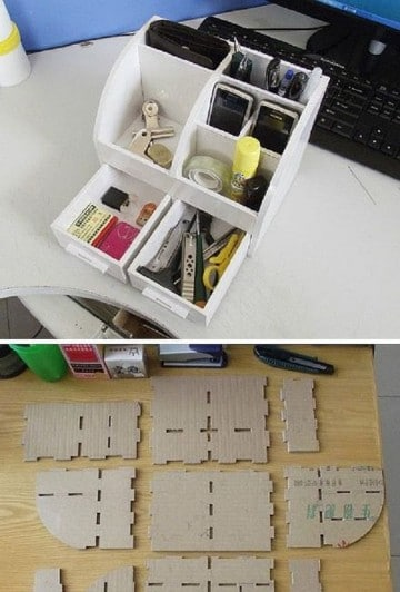 cajas de carton reciclado manualidades