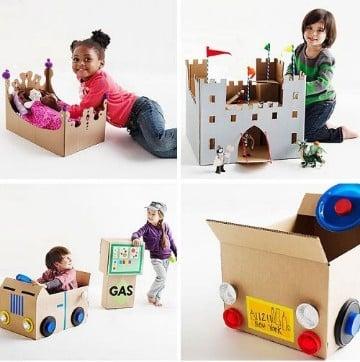 cajas de carton recicladopaso a paso
