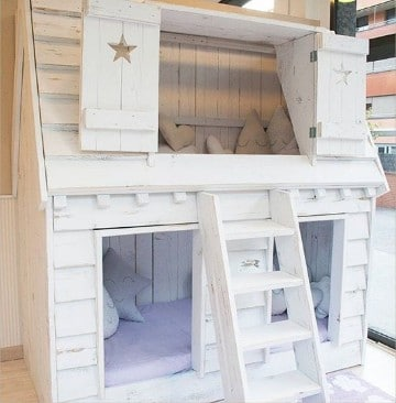 Camas en forma de casita infantil para ni as y ni os for Cama de casita