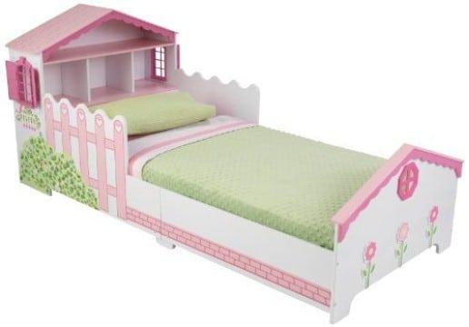 camas en forma de casita para niña