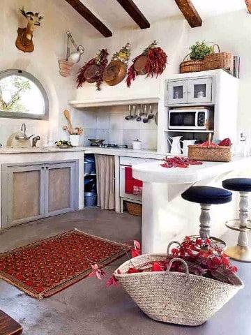 como decorar una casa de campo pequeña