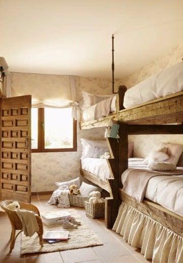 Fotos de como decorar una casa de campo sencillas y rusticas - Como decorar una casa rural ...