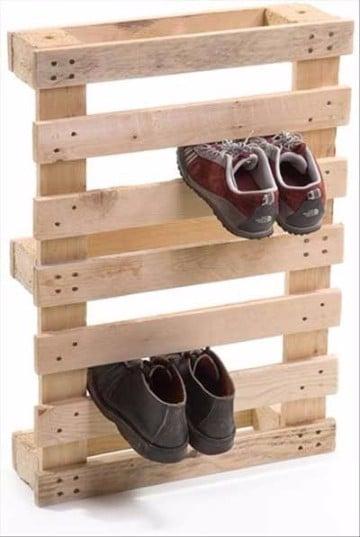 como hacer un zapatero de madera sencilla modernas