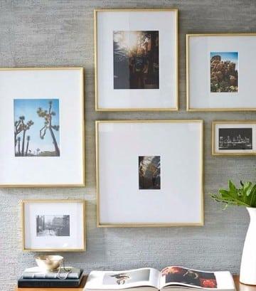 Marcos y fotomontajes para cuadros para fotos familiares for Como hacer un cuadro con fotos familiares