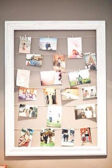 cuadros para fotos familiares feliz