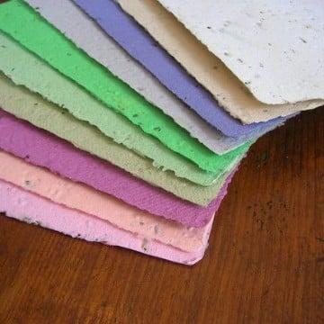 detalles con hojas de colores manualidades