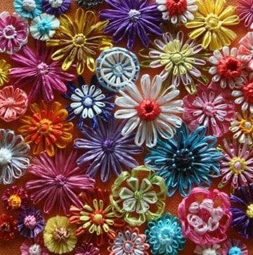 flores hechas con botellas de plastico bonitas