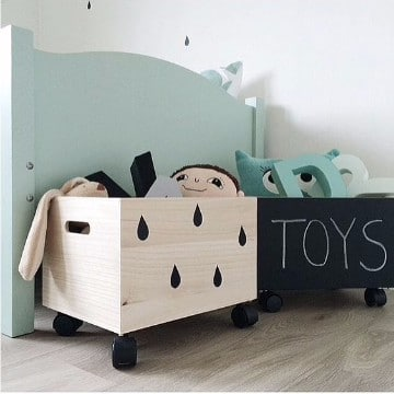 ideas para ordenar juguetes en el dormitorio