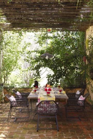 jardines rusticos pequeños caseros