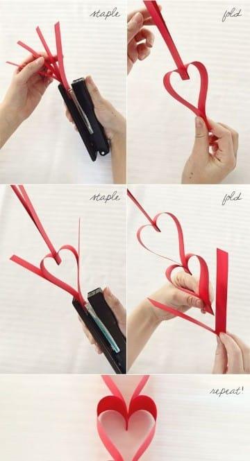 manualidades de papel de amor hechas a mano
