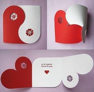 manualidades de papel de amor para hombres