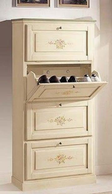 muebles para zapatos de madera moderno y facil de hacer