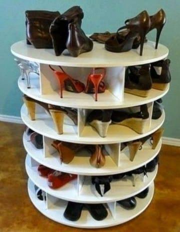 muebles para zapatos de madera facil