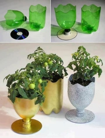 souvenirs con botellas de plastico cumpleaños