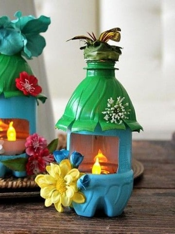 souvenirs con botellas de plastico infantiles