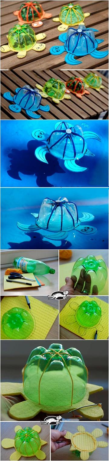 trabajos reciclados para niños de preescolar