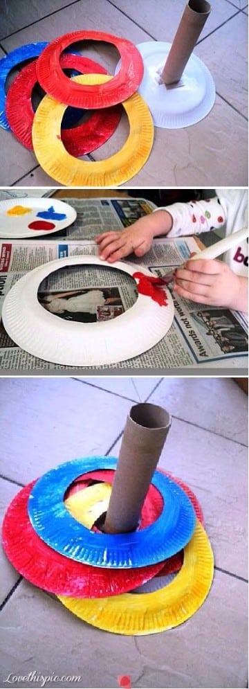trabajos reciclados para niños faciles