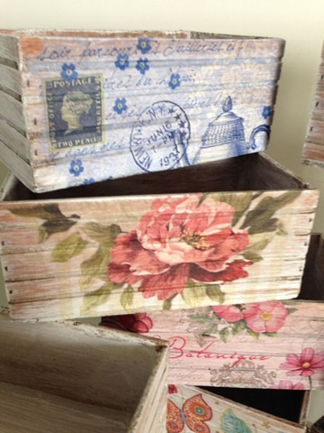 cajas de frutas decoradas para guardar