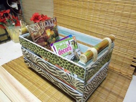 cajas de frutas decoradas para revistas