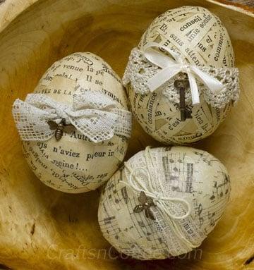 como decorar huevos de pascua facil con musica