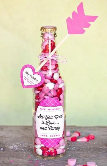 como hacer arreglos para el 14 de febrero candy
